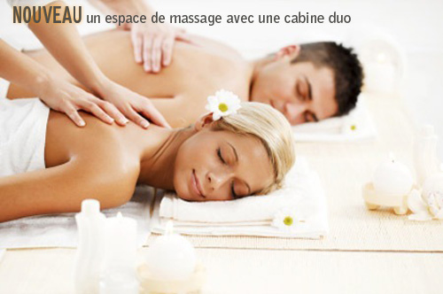 Massage cabine duo